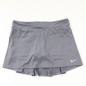 Nike Dri-Fit Gray Athletic Skirt Skort Size Large